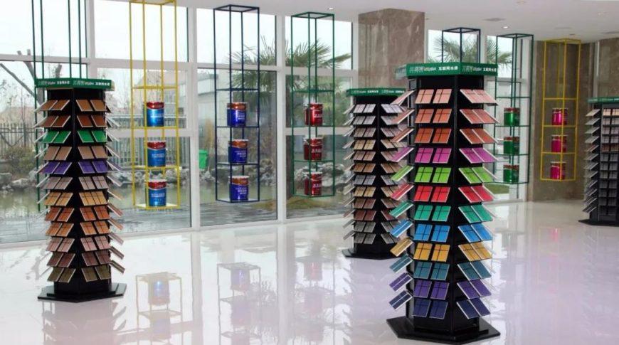 兰堡湾涂料产品展示区