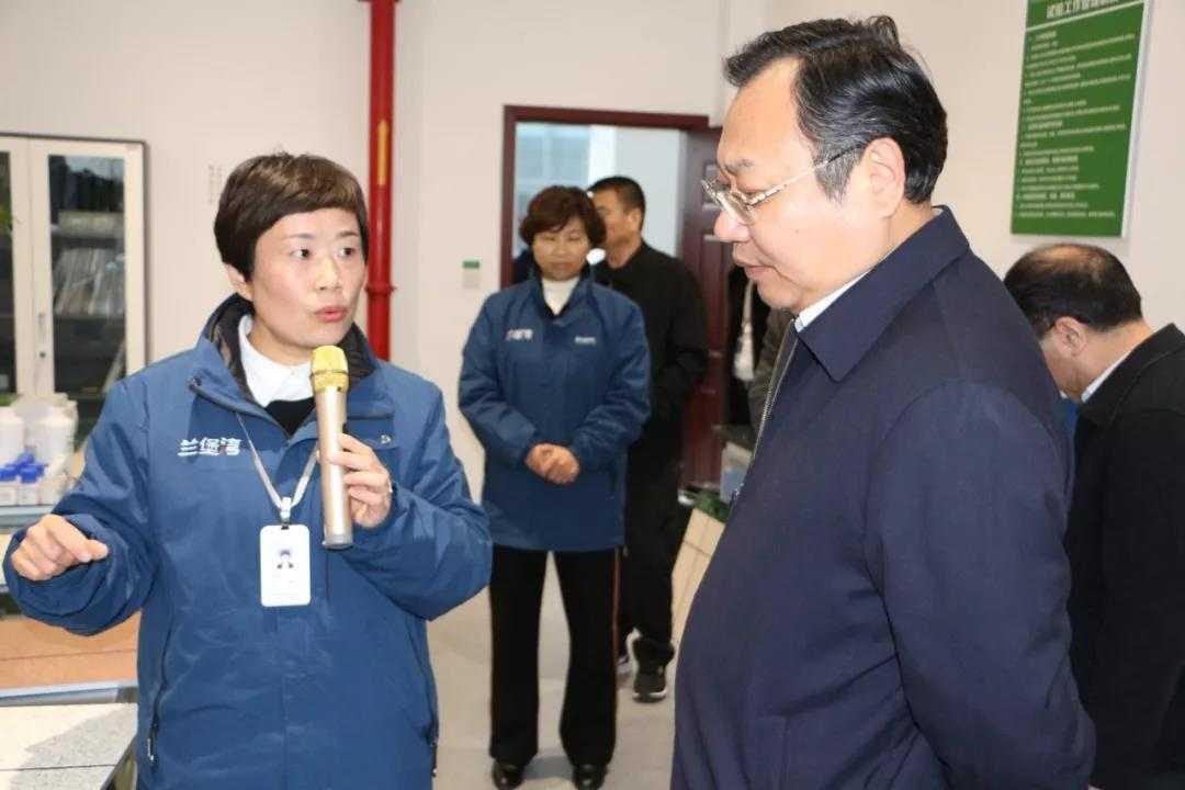商丘市委常委、常务副市长吴祖明莅临兰堡湾检查指导工作