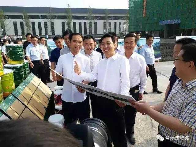 南省安全生产监督管理局副局长孟庆勇为兰堡湾点赞!