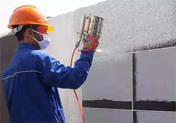真石漆喷涂厚度多少合适?何如控制?