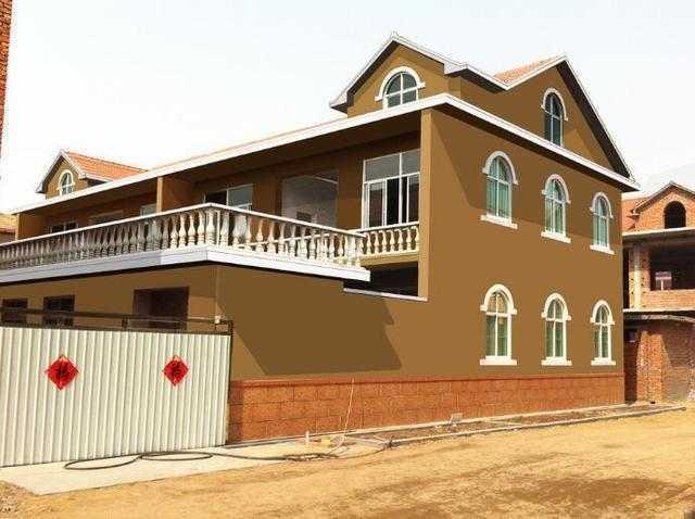 农村别墅外墙用真石漆好还是瓷砖好?河南真石漆厂家告诉您答案