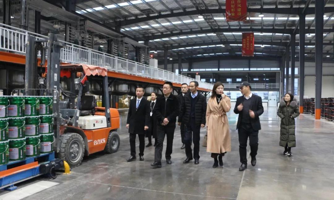 河南省房地产业商会莅临兰堡湾参观指导工作